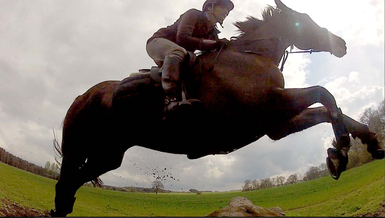 Jumping at Escrick Park
