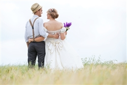 Escrick Park Rural Wedding Bride and Groom