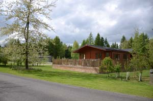 Beautiful lodges on Phase II