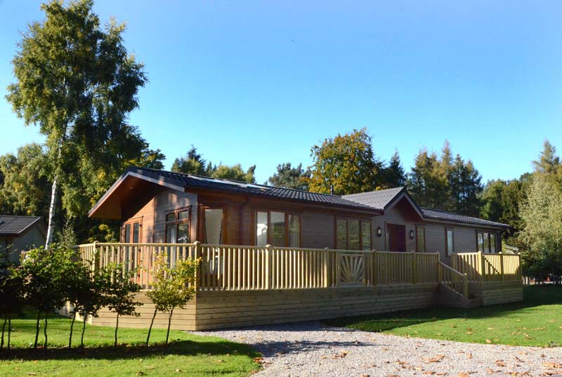 holiday home lodges yorkshire york selby woodland setting