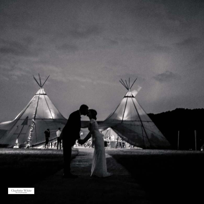 wedding venue yorkshire teepees tents marquee venue engaged.