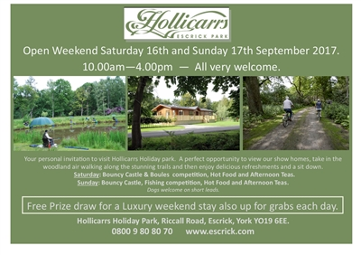 luxurylodge openday northyorkshire yorkshire nature woodland